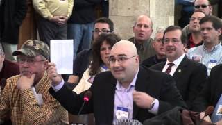 """""""Balding, middle-aged, mildly overweight Cherry Hill Jew"""" pleads against proposed NJ Gun Laws"""