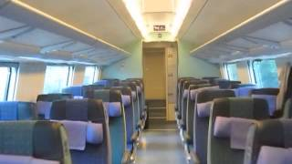 Finland: Walkthrough inside VR Finnish InterCity double decker passenger coaches