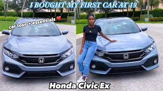 Car tour 2020 Honda civic EX | Whats in my car 2020