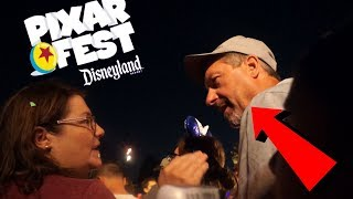 THIS MAN WANTED TO FIGHT AT DISNEYLAND PIXAR FEST | LA 2018