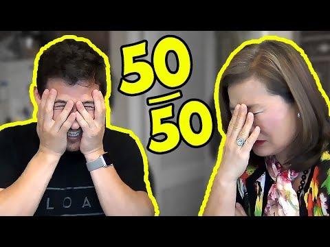 Reddit 50/50 CHALLENGE #4 (feat. MY MOM)