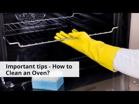 Some Oven cleaning tips for you