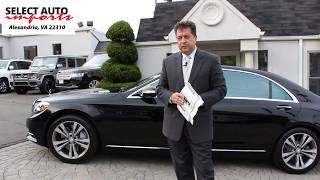 2015 Mercedes-Benz S550 4Matic Black Select Auto Imports in Alexandria, VA #19230