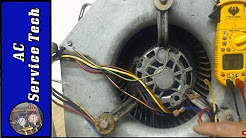 240 volt PSC Blower Motor Fan Speeds- Wire Colors, Speed Selection Without Wiring Diagram!