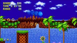 "Sonic Mania (PC) - Green Hill 1 Sonic: 28""86 (Speed Run)"