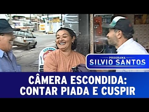 Câmera Escondida: Contar piada e cuspir thumbnail