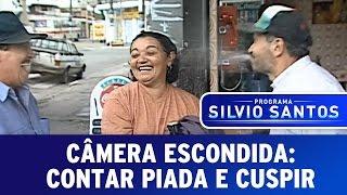Câmera Escondida: Contar piada e cuspir