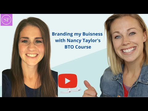 Live Q&A: Branding my Business with Nancy Taylor's BTO Course
