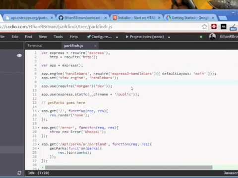 Leveraging the Google Maps API with Express - O'Reilly Webcast
