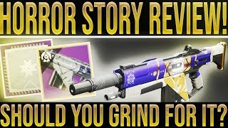 Destiny 2. HORROR STORY REVIEW! Best New Primary Auto Rifle To Grind For? (Festival Of The Lost)
