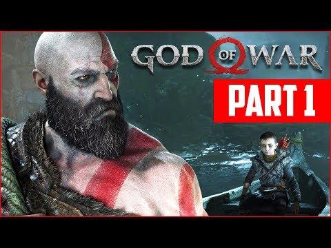 GOD OF WAR PS4 WALKTHROUGH, PART 1!! (God of War PS4 Gameplay)