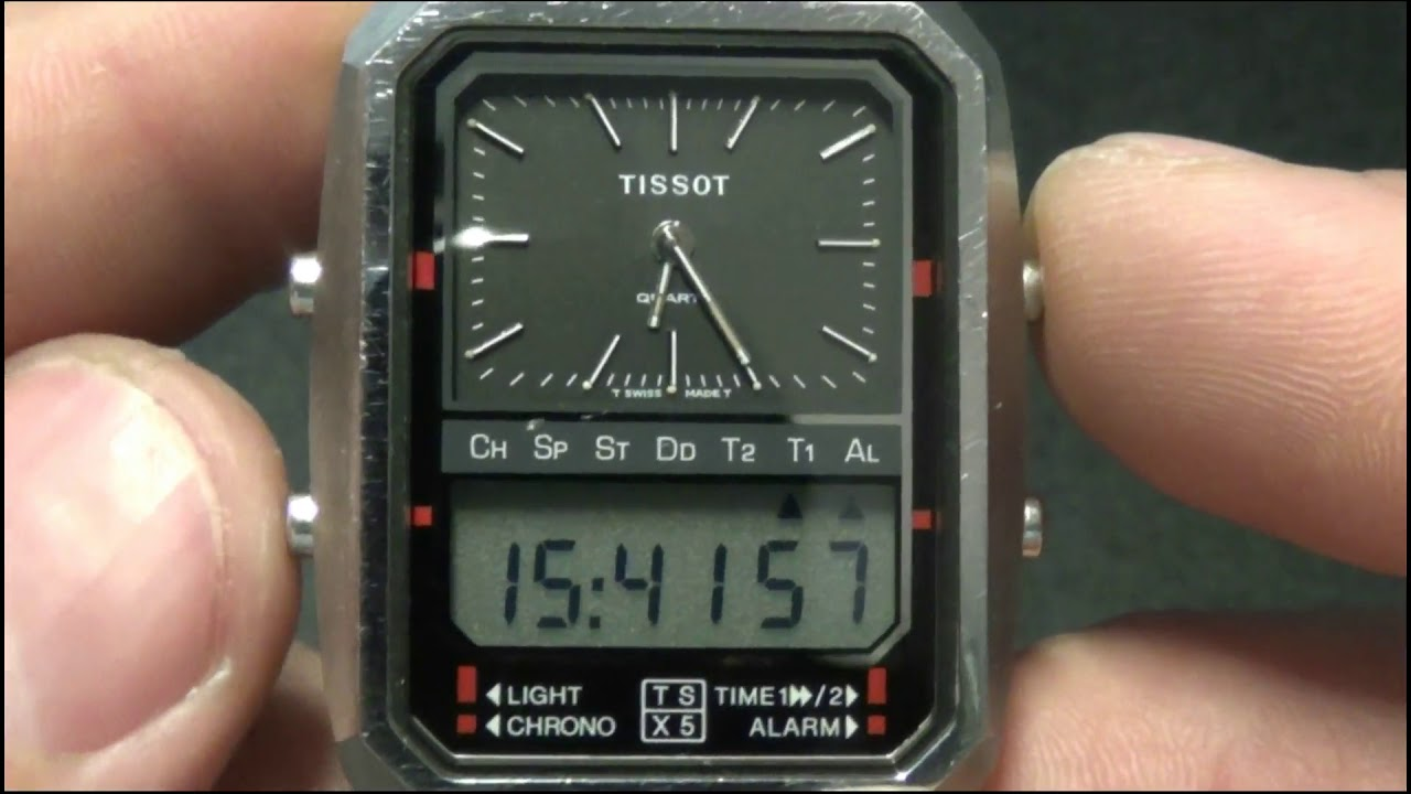 how to set time on analog watch