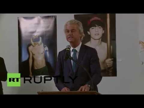 USA: Wilders rails against Islam and endorses Trump at LGBT Republican event