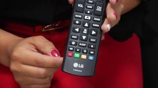 LG 32LJ616D magic remote