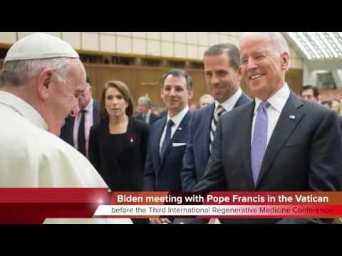 KTF News - U S  Vice President Joe Biden Visits Vatican