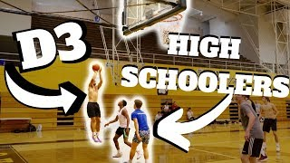 High School Basketball Team Exposed BY D3 Player !