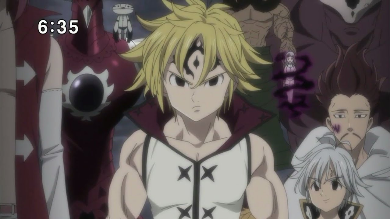 Nanatsu No Taizai Season 2 Amv Meliodas Death