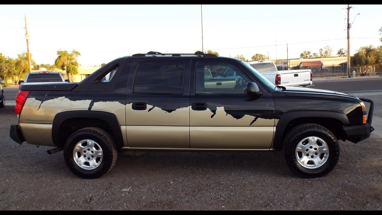 hight resolution of 2004 chevrolet avalanche 1500 base 4d loaded 18190