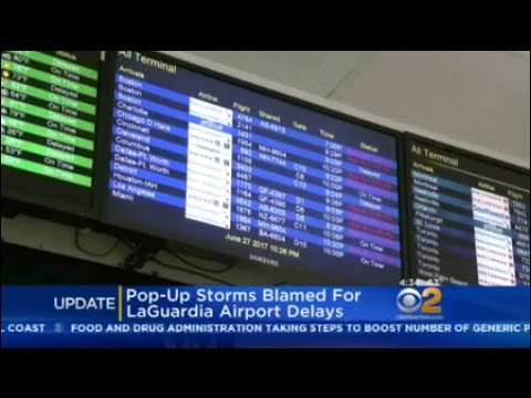 Pop-Up Storms Blamed For LaGuardia Airport Delays