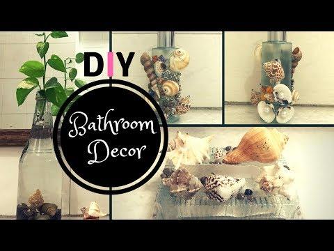 DIY Bathroom Decorating Ideas with Sea Shells | Bathroom Decor