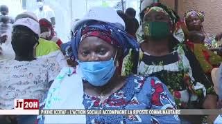 Pikine Icotaf : l'action sociale accompagne la riposte communautaire