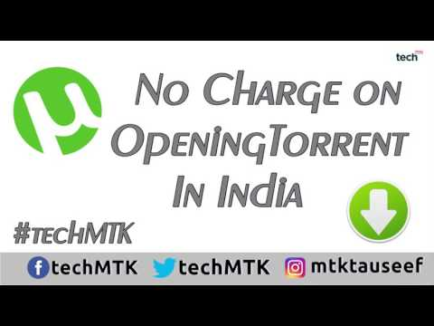 No Fine or Jail for  Opening or Downloading Torrent in India