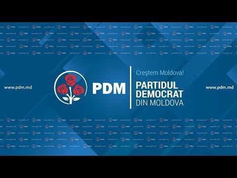 Conferinta 31.04.2018  Partidul Democrat din Moldova