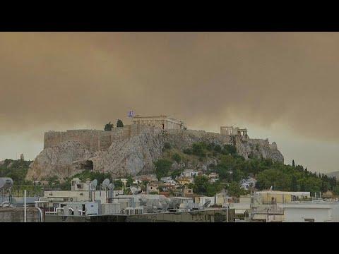 شاهد: حرائق غابات اليونان تغطي هضبة الأكروبوليس  - نشر قبل 15 دقيقة