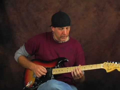 Learn how to play arpeggio lead guitar lesson soloing rock blues jazz style