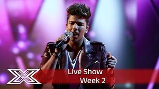 Matt Terry takes on Marvin for Motown Week! | Live Shows Week 2 | The X Factor UK 2016