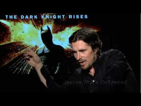 Christian Bale felt silly in the batsuit