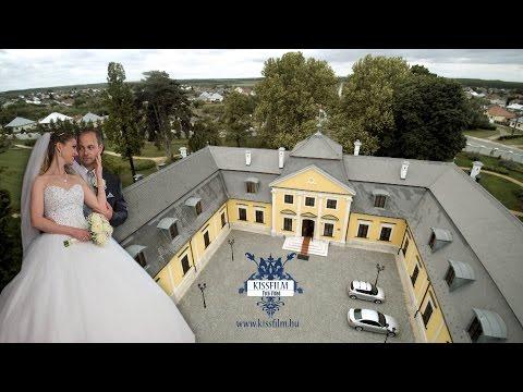 Renáta és Róbert kreatív fotózása a Forgách kastélyban Mándokon