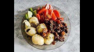 Жареная печень с луком и морковью/ Fried liver