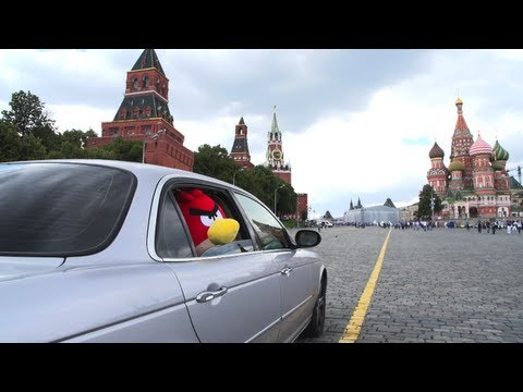 Red Bird lands in Red Square - Angry Birds game update