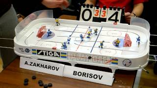 Table Hockey. Moscow Cup 2013. A.Zakharov-Borisov. Game 7