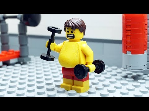 Lego Gym Fail - Body Building