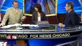 """Extraordinary Comebacks"" author interview on Fox TV Chicago"