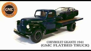 Uma incrível réplica em miniatura do GMC Flatbed Truck, que no Bras...