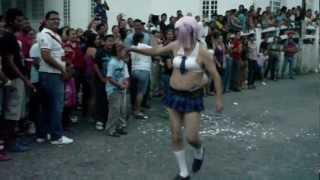 COMPARSA DE ENMASCARADOS II CARNAVAL DE ZEMPOALA 18 DE MARZO DE 2012
