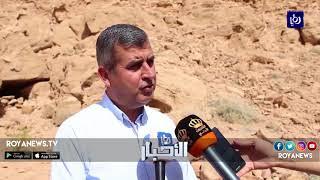 وزيرا الطاقة والبيئة يتفقدان عمليات استكشاف النحاس في محمية ضانا - (4-3-2018)