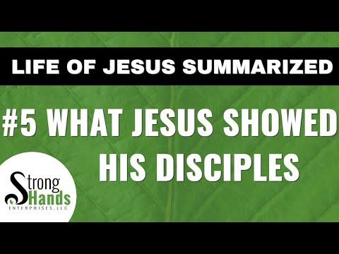 5  Training the Twelve: Life of Jesus