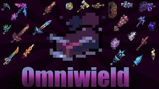 Terraria Supreme Buffed Shadowspec Bar Weapons Omniwield vs Calamity Mod Boss Rush
