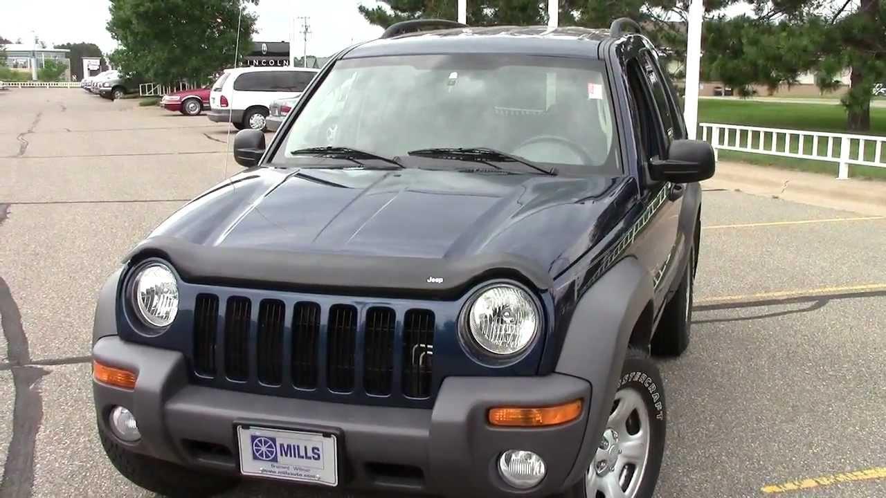 2004 jeep liberty 3.7l 4x4 - youtube