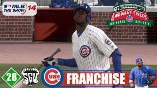 MLB 14: The Show (PS4) Chicago Cubs Franchise - EP28 (NLCS vs Diamondbacks Game 1)