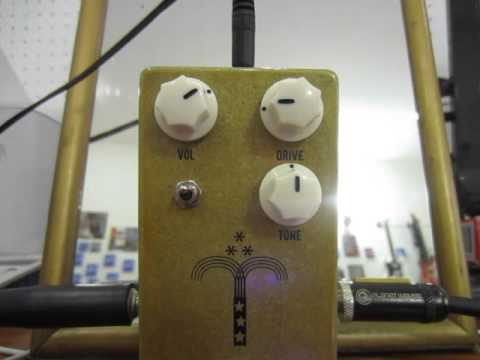 Review Guitar Effect JHS Morning Glory Overdrive Pedal