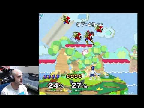 GPOG May - rainbowyoshi123 (Falco) vs Slime (Captain Falcon) - Pool WC4 WR2 |