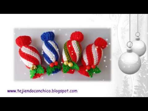 Tutorial De Amigurumis Navideños : Amigurumis navideños youtube