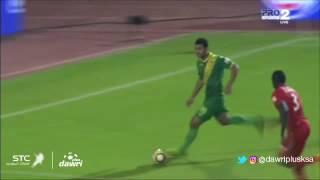 هدف الخليج الأول ضد الإتفاق في دور الـ 9 من دوري جميل