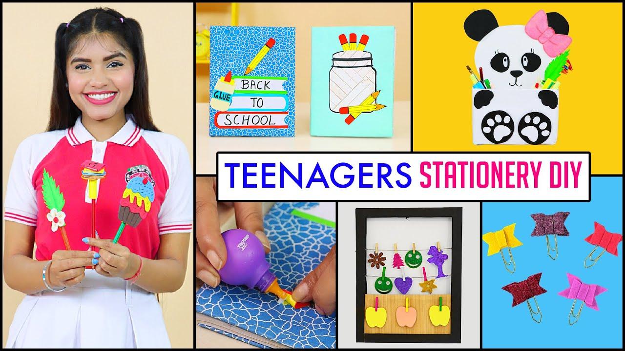 6 Back to School DIY for Teenagers | DIY Queen