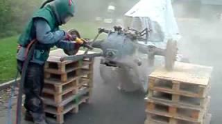 Piaskowanie sprzętu rolniczego Szczecin - J.W. SZCZECIN